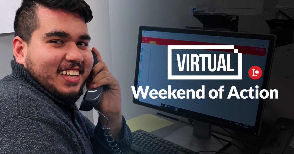 Virtual Weekend of Action